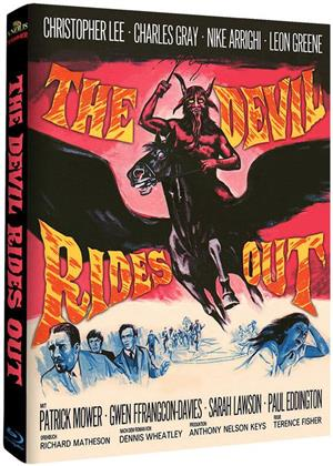 The Devil Rides Out (1968) (Hammer Edition, Cover A, Limited Edition, Mediabook, 2 Blu-rays)