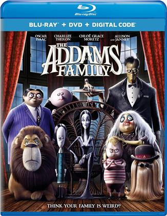 The Addams Family (2019) (Blu-ray + DVD)