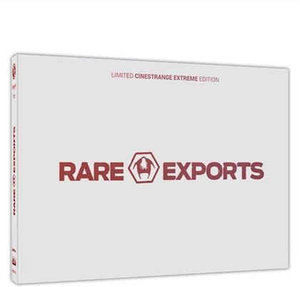 Rare Exports - A Christmas Tale (2010) (Cover Q, Wattiert, Limited Edition, Mediabook, Uncut, Blu-ray + DVD)