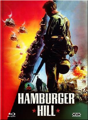 Hamburger Hill (1987) (Cover D, Limited Collector's Edition, Mediabook, Uncut, Blu-ray + DVD)
