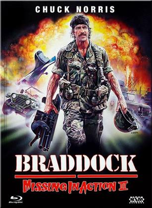 Braddock: Missing in Action 3 (1988) (Cover A, Limited Collector's Edition, Mediabook, Blu-ray + DVD)