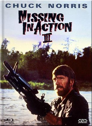 Missing in Action 3 (1988) (Cover B, Limited Collector's Edition, Mediabook, Blu-ray + DVD)