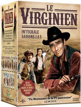 Le Virginien - Saisons 1-5 (25 DVDs)