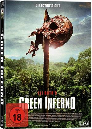 The Green Inferno (2013) (Cover E, Director's Cut, Limited Edition, Mediabook, Uncut, Blu-ray + DVD)