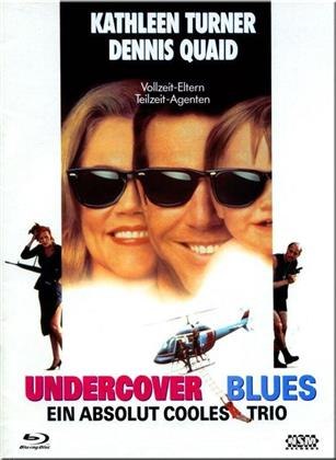 Undercover Blues - Ein absolut cooles Trio (1993) (Cover A, Limited Collector's Edition, Mediabook, Blu-ray + DVD)