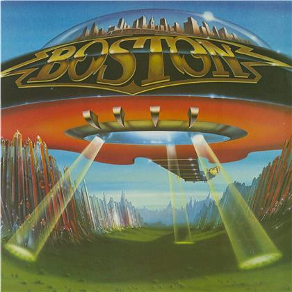 Boston - Don't Look Back (2020 Reissue, Friday Music, Limited Edition, Black & Blue Vinyl, LP)