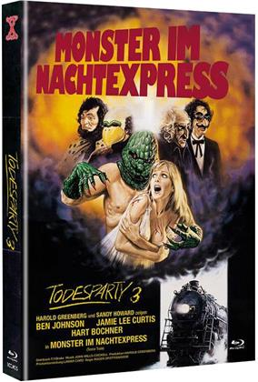 Todesparty 3 - Monster im Nachtexpress (1980) (Cover A, The X-Rated International Cult Collection, Limited Edition, Mediabook, Uncut, Blu-ray + DVD)