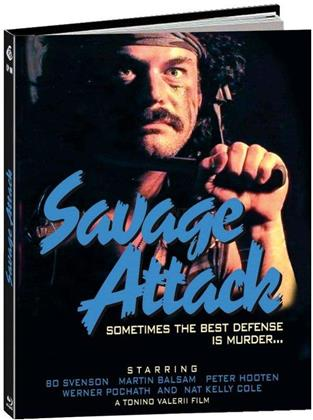 Savage Attack (1987) (Cover B, Limited Edition, Mediabook, Uncut)
