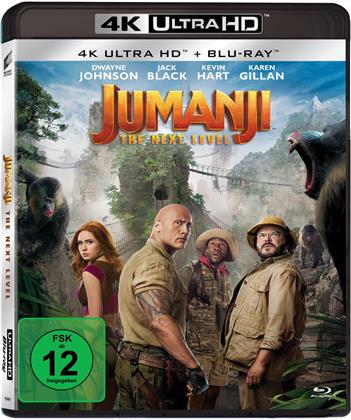 Jumanji - The Next Level (2019) (4K Ultra HD + Blu-ray)