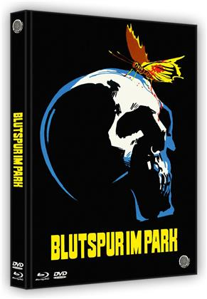 Blutspur im Park (1971) (Cover B, Limited Edition, Mediabook, Uncut, Blu-ray + DVD)