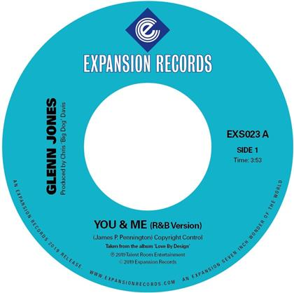 "Glenn Jones - You & Me (7"" Single)"