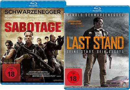 Sabotage (2014) / The Last Stand (2013) (Limited Edition, 2 Blu-rays)