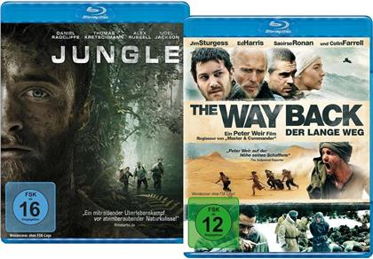 Jungle (2017) / The Way Back (2010) (Limited Edition, 2 Blu-rays)
