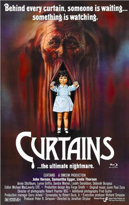 Curtains (1983) (Cover B, Grosse Hartbox, Limited Edition)