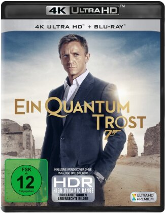 James Bond: Ein Quantum Trost (2008) (4K Ultra HD + Blu-ray)